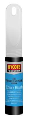 Hycote Audi Volcano Black Pearlescent Paint