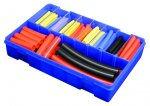 Pearl Assorted Heat Shrink Tubing - Pack of 124