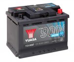 YBX9027 Yuasa AGM Start Stop Battery 4Y48K Warranty