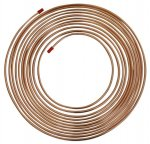 "Saville Copper Brake Pipe - 3/16"" 4.76mm - 25ft 7.62m Coil"