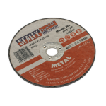 Sealey Cutting Disc 75mm x 2mm 10mm Bore