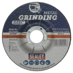 Sealey Grinding Disc 115mm x 6mm 22mm Bore