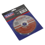 Sealey Cutting Disc 115mm x 1.2mm 22mm Bore Pack of 5