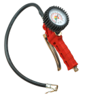 Sealey Tyre Inflator with Clip-On Connector