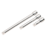 Sealey Extension Bar Set 3pc 1/2Sq Drive