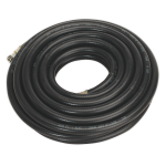 Sealey Air Hose 10m x 10mm with 1/4BSP Unions Heavy-Duty