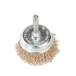 Sealey Wire Cup Brush 50mm with 6mm Shaft