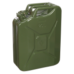 Sealey Jerry Can 20ltr - Green