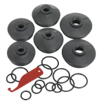 Sealey Ball Joint Dust Covers - Car Pack of 6 Assorted