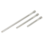 Sealey Extension Bar Set 3pc 1/4Sq Drive