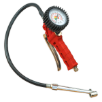 Sealey Tyre Inflator with Twin Push-On Connector