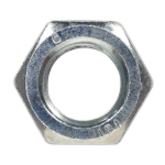Sealey Steel Nut M20 Zinc DIN 934 Pack of 10