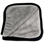 EZ Car Care Aqua Loop Mini Twisted Drying Towel 600gsm Grey