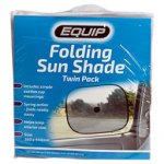Equip Twin Pack Folding Sunshade
