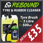 Autoglanz Rebound Tyre & Rubber Cleaner - Special Offer