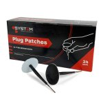 System Plug Patches 6mm (Pack of 24)