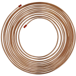 Saville Copper Brake Pipe 25ft Coil