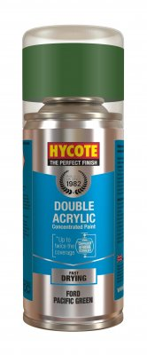 Hycote XDFD317 Ford Pacific Green Pearlescent 150ml