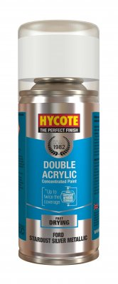 Hycote XDFD412 Ford Stardust Silver Metallic 150ml