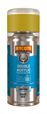 Hycote XDNS701 Nissan Gold Metallic 150ml