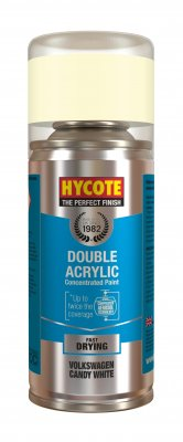 Hycote XDVW603 Volkswagen Candy White 150ml