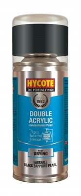 Hycote XDVX710 Vauxhall Black Sapphire Pearlescent 150ml