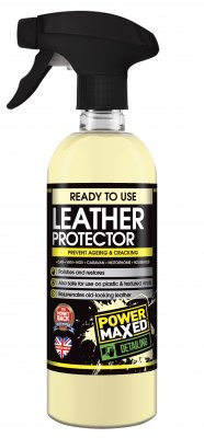 Power Maxed Leather Cleaner & Protector 500ml