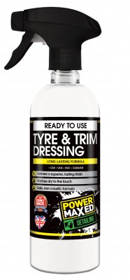 Power Maxed Tyre & Trim Dressing
