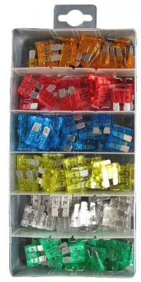 Pearl Assorted Blade Fuses - Pack of 120