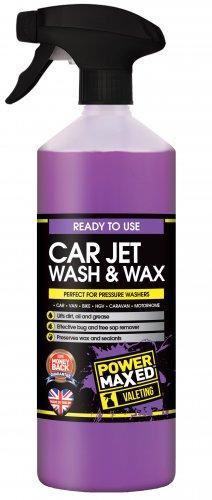 Power Maxed Jet Wash & Wax Pre Wash 1L