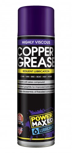Power Maxed Copper Grease 500ml