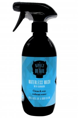 Devils In The Detail Waterless Wash & Wax Car Shampoo 500ml