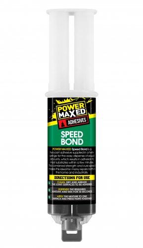 Power Maxed Speed Bond Epoxy Syringe 25ml