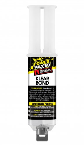 Power Maxed Klear Bond Epoxy Syringe 25ml
