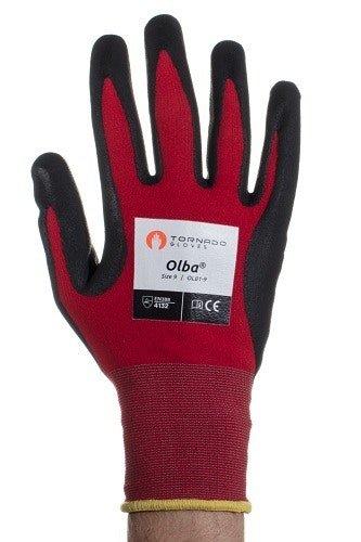 Tornado Gloves Olba (1x Pair) Size 9 (Medium)