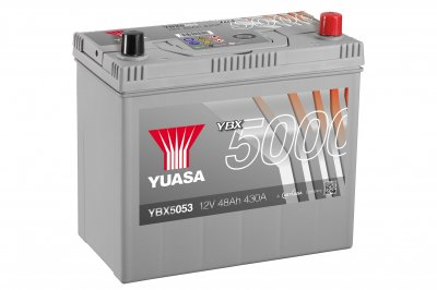 YBX5053 Yuasa Premium Plus Battery 5Y60K Warranty