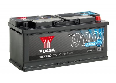 YBX9020 Yuasa AGM Start Stop Battery 4Y48K Warranty
