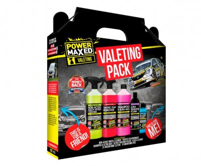 Power Maxed Car Valeting Pack