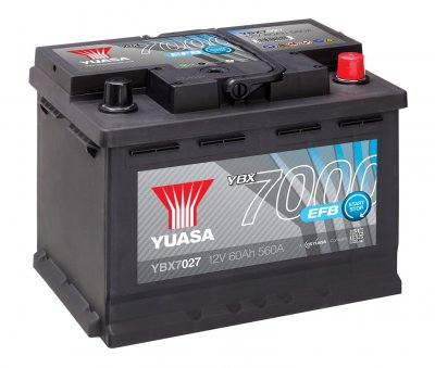 YBX7027 Yuasa EFB Start Stop Battery 4Y48K Warranty
