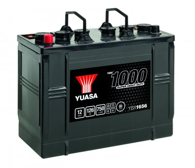 YBX1656 Yuasa Super HD Battery