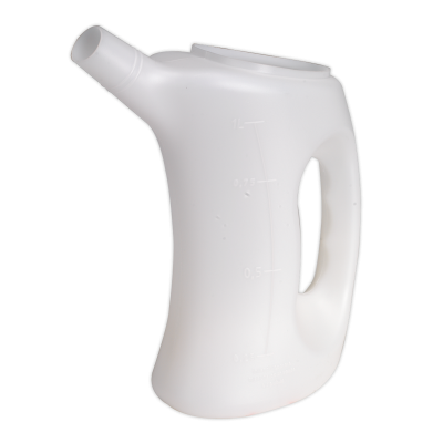 Sealey Measuring Jug with Rigid Spout 1L