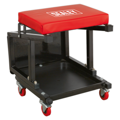 Sealey Mechanic's Utility Seat & Step Stool