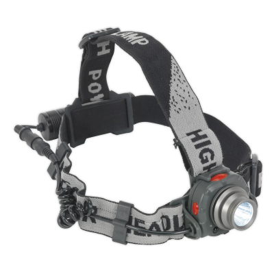 Sealey Head Torch 3W CREE LED Auto Sensor Rechargeable