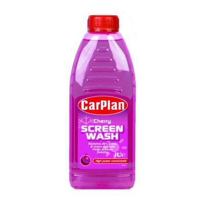 CarPlan Cherry Fragranced Concentrated Screenwash 1L