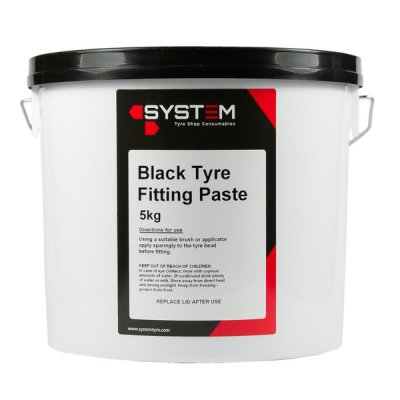 System Tyre Mounting Paste Black 5kg
