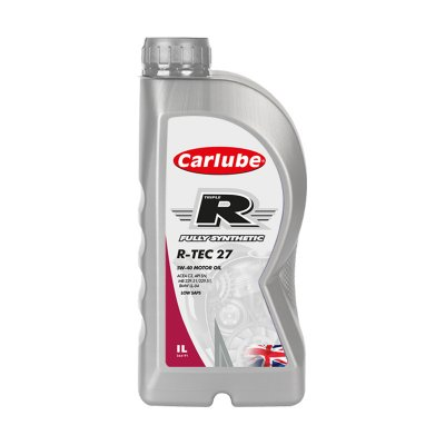 Carlube Triple R - R TEC 27 - 5W40 Engine Oil