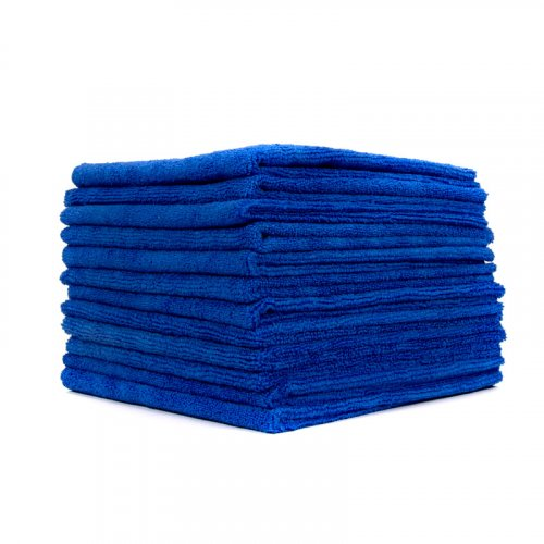 EZ Car Care Workhorse Microfibre Cloth 380gsm - Blue