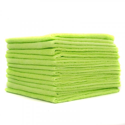 EZ Car Care Workhorse Microfibre Cloth 380gsm - Green