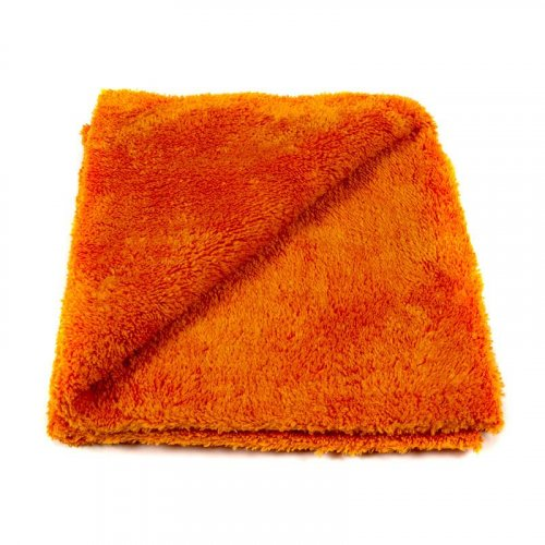 EZ Car Care Premium Plush Korean Microfibre Cloth 600gsm - Orange