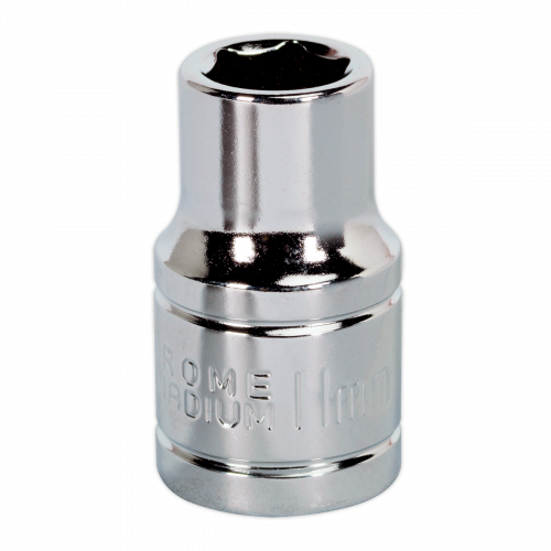 "Sealey Tools Wall Drive Socket 11mm 1/2"" Drive"